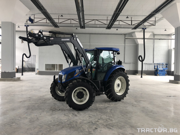 Трактори New-Holland TD5.85 0 - Трактор БГ