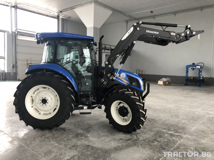 Трактори New-Holland TD5.85 1 - Трактор БГ