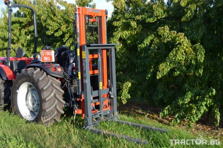 Машини за лозя / овошки Мотокарното устройство (Подемник) CORBINS 0 - Трактор БГ