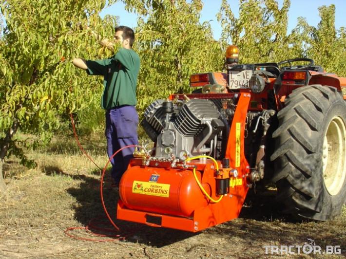 Машини за лозя / овошки Пневматични компресори CORBINS - Испания 0 - Трактор БГ