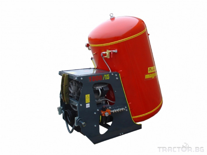 Машини за лозя / овошки Пневматични компресори CORBINS - Испания 3 - Трактор БГ