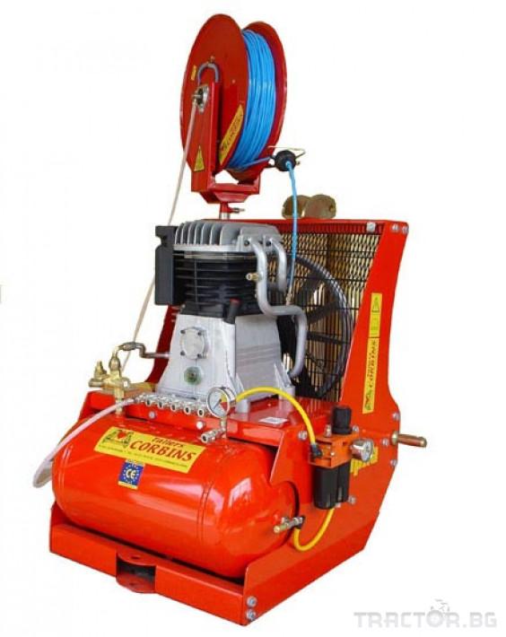 Машини за лозя / овошки Пневматични компресори CORBINS - Испания 4 - Трактор БГ
