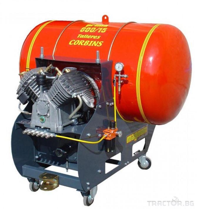Машини за лозя / овошки Пневматични компресори CORBINS - Испания 5 - Трактор БГ