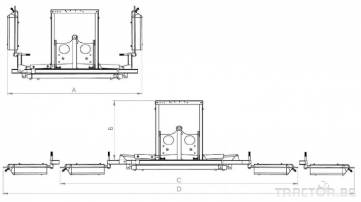 Пръскачки Хербицидна пръскачка CORBINS 4 - Трактор БГ