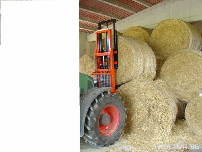 Машини за лозя / овошки Мотокарното устройство (Подемник) CORBINS 1 - Трактор БГ