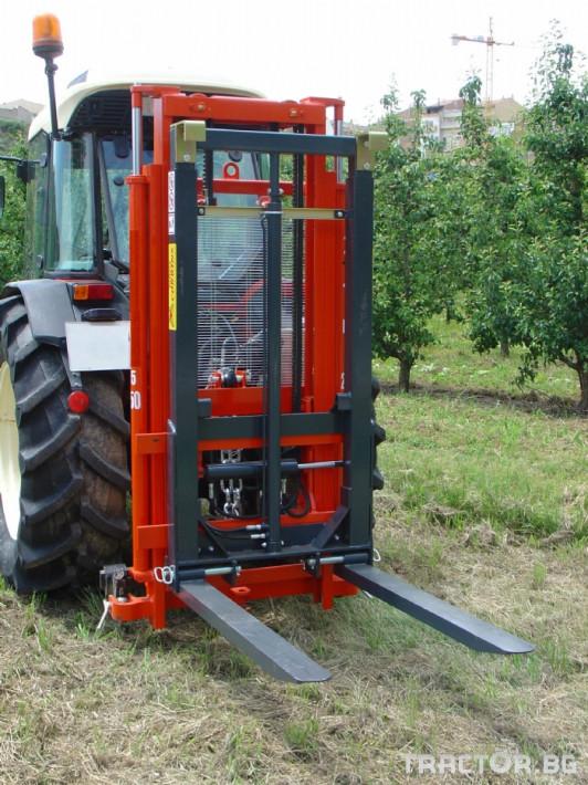 Машини за лозя / овошки Мотокарното устройство (Подемник) CORBINS 2 - Трактор БГ