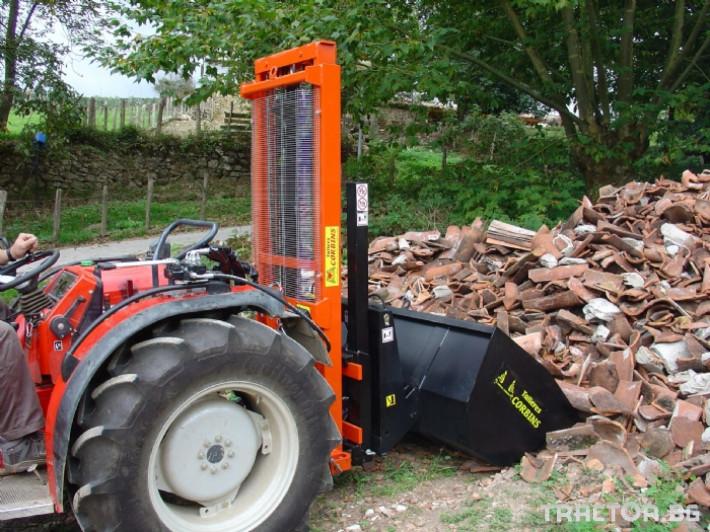 Машини за лозя / овошки Кофа за подемник. CORBINS 1 - Трактор БГ