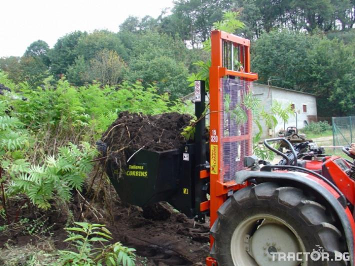 Машини за лозя / овошки Кофа за подемник. CORBINS 2 - Трактор БГ