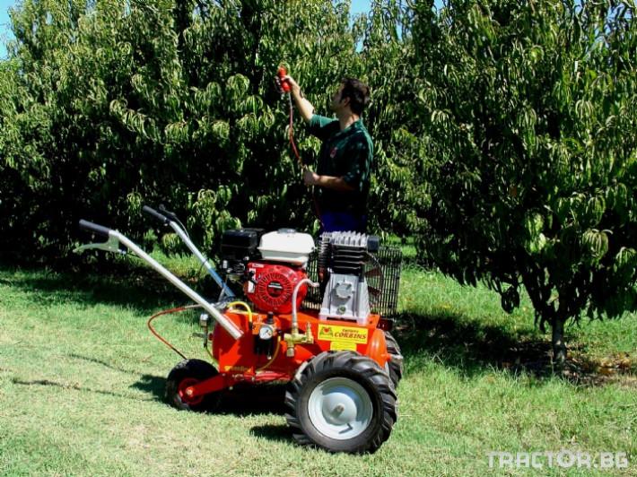 Машини за лозя / овошки Мобилни Пневматични компресори CORBINS - Испания 3 - Трактор БГ