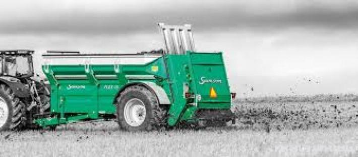 Ремаркета и цистерни Тороразпръскващо ремарке SAMSON 0 - Трактор БГ