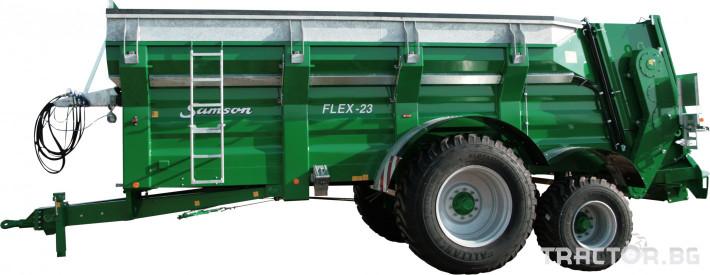 Ремаркета и цистерни Тороразпръскващо ремарке SAMSON 1 - Трактор БГ