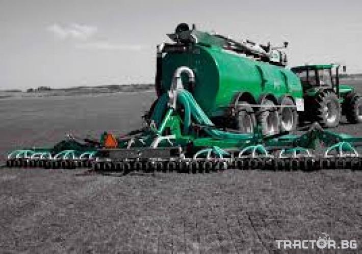 Ремаркета и цистерни Тороразпръскващо ремарке SAMSON 2 - Трактор БГ