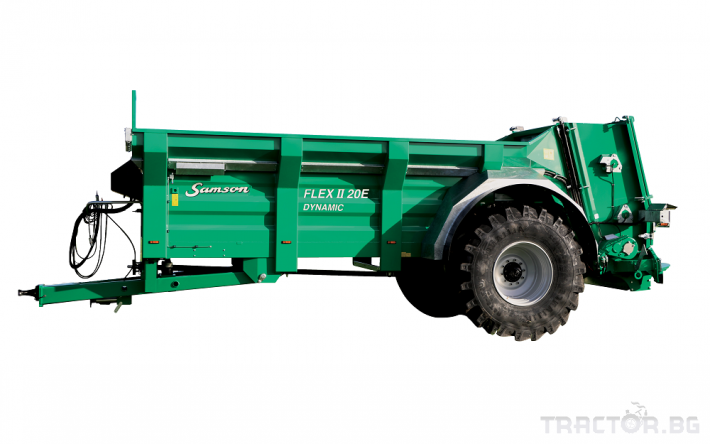Ремаркета и цистерни Тороразпръскващо ремарке SAMSON 4 - Трактор БГ