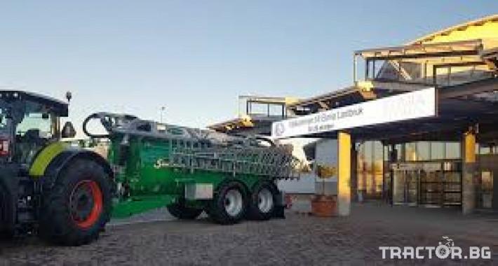 Ремаркета и цистерни Цистерна за биомаса SAMSON 2 - Трактор БГ