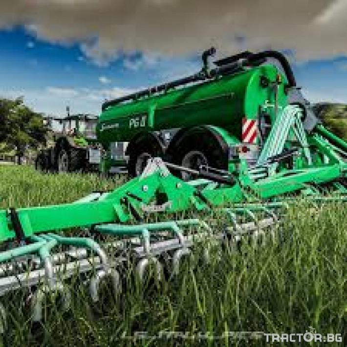 Ремаркета и цистерни Цистерна за биомаса SAMSON 1 - Трактор БГ