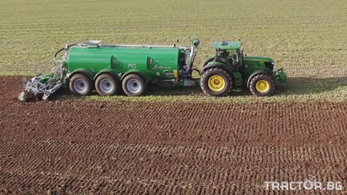 Ремаркета и цистерни Цистерна за биомаса SAMSON 3 - Трактор БГ