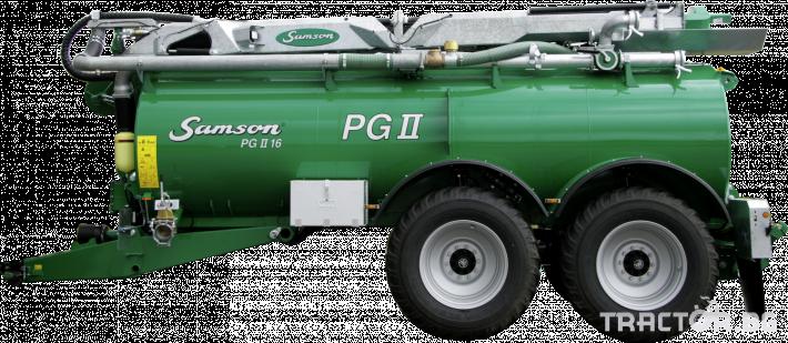 Ремаркета и цистерни Цистерна за биомаса SAMSON 4 - Трактор БГ
