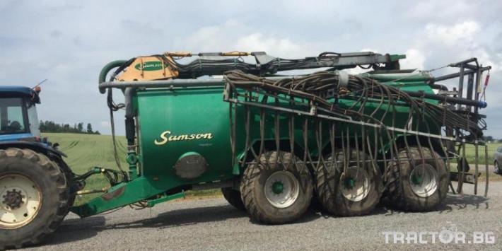 Ремаркета и цистерни Цистерна за биомаса SAMSON 5 - Трактор БГ