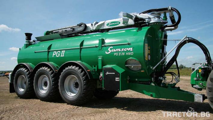 Ремаркета и цистерни Цистерна за биомаса SAMSON 6 - Трактор БГ