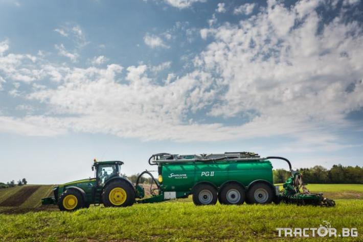 Ремаркета и цистерни Цистерна за биомаса SAMSON 0 - Трактор БГ