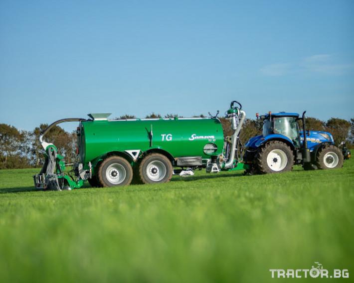 Ремаркета и цистерни Цистерна за биомаса SAMSON 7 - Трактор БГ