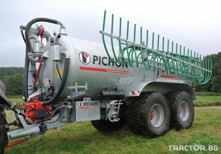Ремаркета и цистерни Цистерни за Суспензия PICHON 2 - Трактор БГ