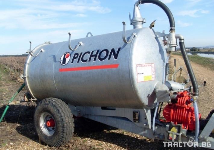 Ремаркета и цистерни Цистерни за Суспензия PICHON 9 - Трактор БГ