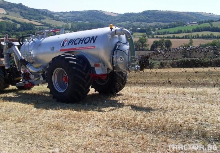 Ремаркета и цистерни Цистерни за Суспензия PICHON 10 - Трактор БГ