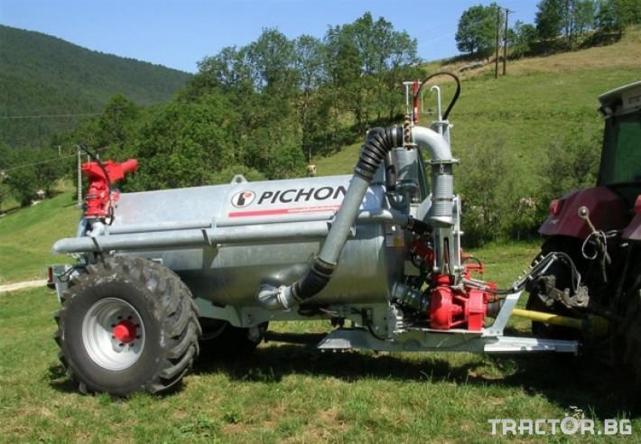 Ремаркета и цистерни Цистерни за Суспензия PICHON 0 - Трактор БГ