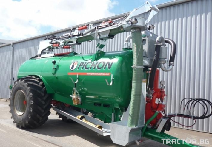 Ремаркета и цистерни Цистерни за Суспензия PICHON 3 - Трактор БГ