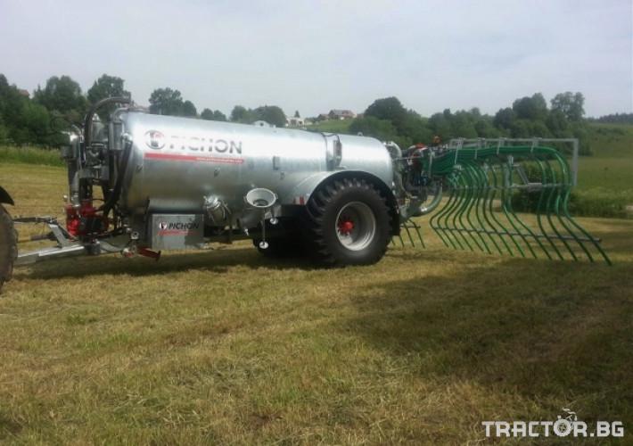 Ремаркета и цистерни Цистерни за Суспензия PICHON 11 - Трактор БГ