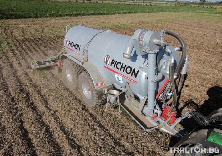 Ремаркета и цистерни Цистерни за Суспензия PICHON 4 - Трактор БГ