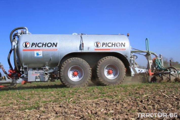 Ремаркета и цистерни Цистерни за Суспензия PICHON 13 - Трактор БГ