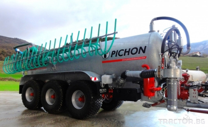 Ремаркета и цистерни Цистерни за Суспензия PICHON 14 - Трактор БГ