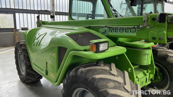 Телескопични товарачи Merlo MERLO P40.7 8 - Трактор БГ