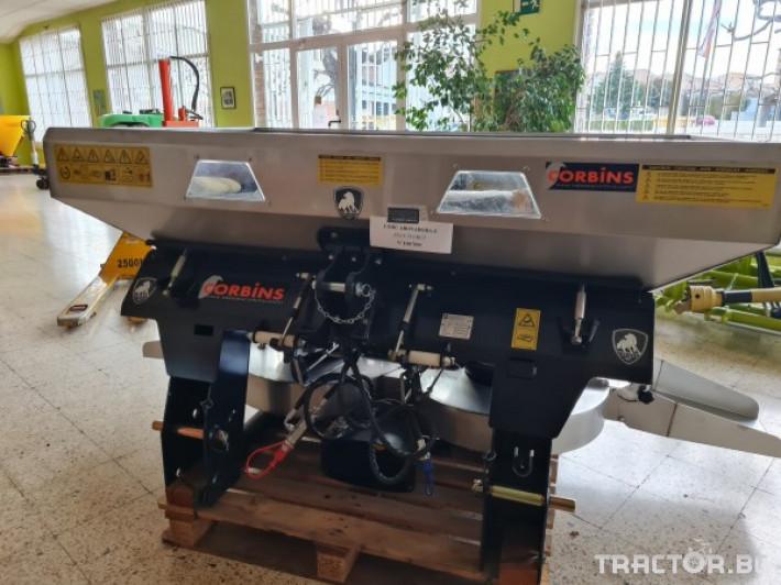 Торачки Двудискова тороразпръсквачка CORBINS 2 - Трактор БГ